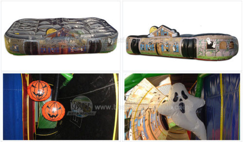 Haunted House Inflatable Tunnel Maze Manufacturers And