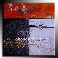 High quality moden abstract oil painting on canvas