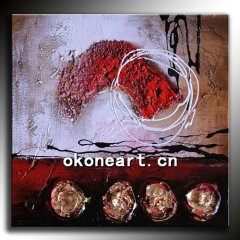 New modern decorative abstract oil painting