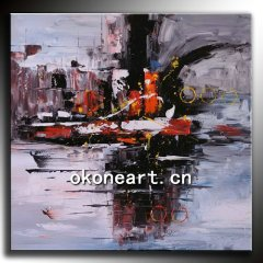 (Hot!) Farbic painting designs/Modern abstract oil painting