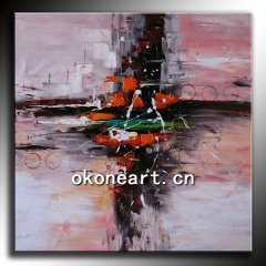 New Abstract Oil Painting-NA32