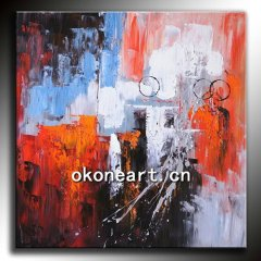 New Abstract Oil Painting-NA34