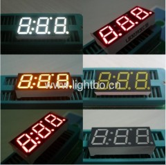 3 digit 10mm 7 segment display;three digit 0.39