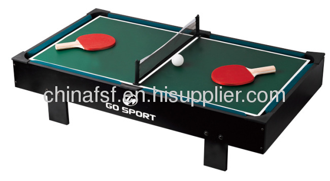funny household game and high quality mini ping pong table. Black Bedroom Furniture Sets. Home Design Ideas