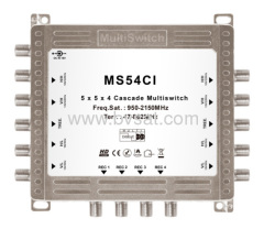 HD cascadable multiswitches