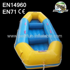 Inflatable Fishing Boat with 3 Inflatable Chambers