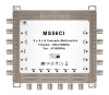 digital HD TV compatible 6 subscribers zinc die casting cascadable multiswitch