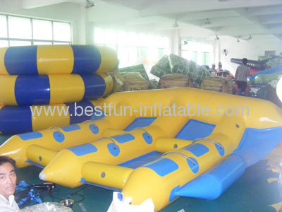 3 Tubes Inflatable Flying Fish for Sale