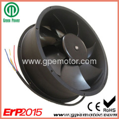low noise Brushless DC Axial Fan for telecom heat exchanger