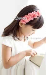 ETTS017 Beautiful Flower Shape Hair Band Children hair