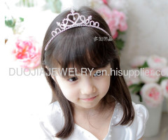ETTS018 Beautiful Alloy Hair Band Children hair accessories