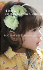 Bowknot Hair Band Children hair accessories