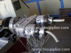 Plastic pvc pipe making machinery