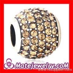 Swarovski Silver Crystal Beads