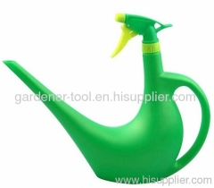 Watering Can With Trigger Sprayer Together.