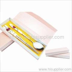 Set of 2 ceramic spoon chopsticks-tableware