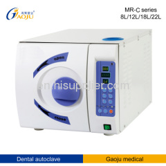 MR-18L-C 18L Class B Dental Steam Autoclave