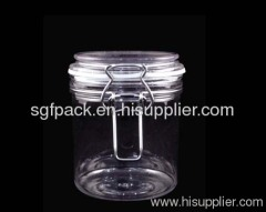Plastic Food jar PET bottle