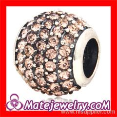 european Crystal Charm Beads