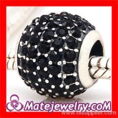 Crystal Silver european Beads