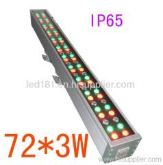led waterproof bar light outdoor dmx bar light