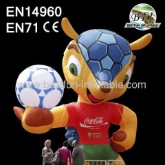 World Cup Inflatable Fuleco Cartoon