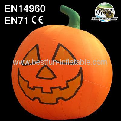 Halloween Bar Decoration Large Inflatable Pumpkin