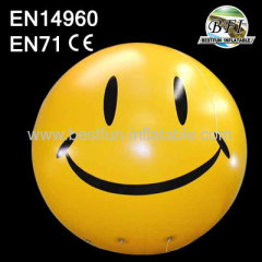 Inflatable Smile Face Balloon