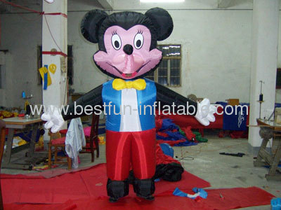 Moving Inflatable Mickey Mouse