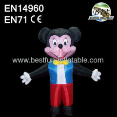 Promotional Inflatable Movable Mickey Mouse
