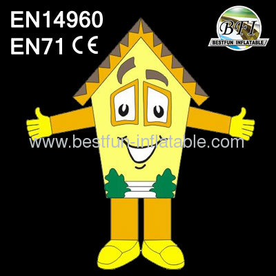 2013 New Design Advertising House Character