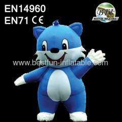 Advertisement Inflatable Walking Cartoon