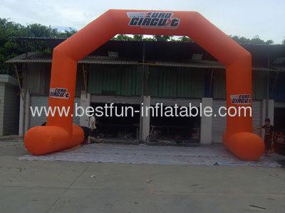 Orange 2013 New Advertising Promotional Inflatable Arch Door