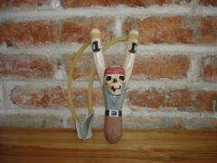 Wooden Carved Slingshot