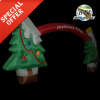 Xmas Inflatable Christmas Tree Archway