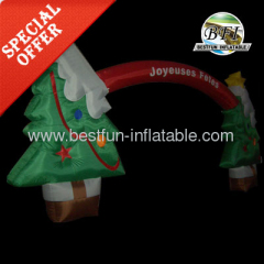 Inflatable Christmas Arch With Tree