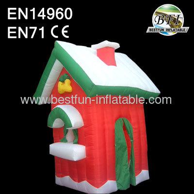 Mini Inflatable Christmas House