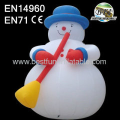 Big Christmas Inflatable Snow Man