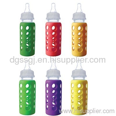 skid-proof silicone baby feeding bottle item