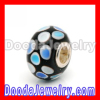 Colorful Dots Silver Core european Lampwork Glass Beads 2013