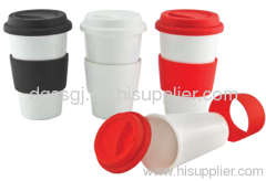 Heat-stable silicone cup cover