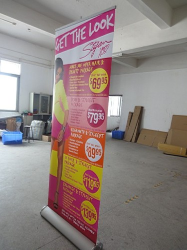 Roll Up Banner/Easy Roll Up Stand Display