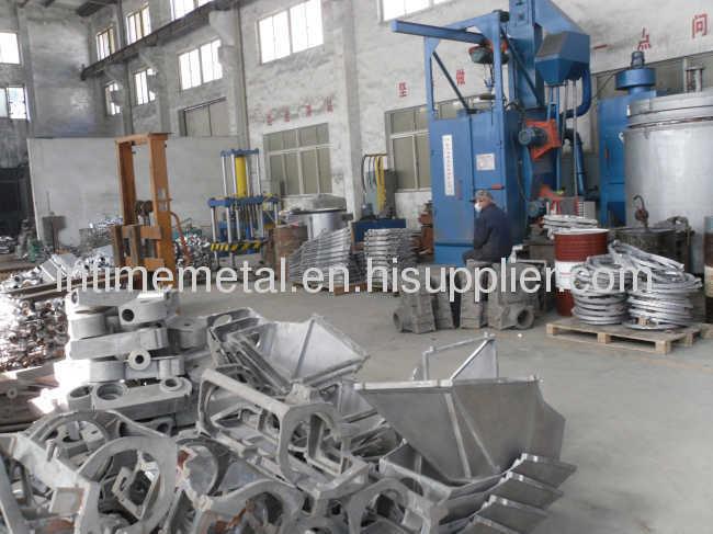 aluminum low pressure die cast part