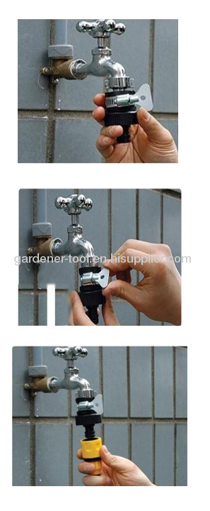 Plastic 1/2Universal tap connector For All Outdoor Water Faucet