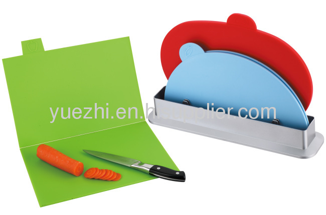 3pcs index chopping board (2pcs folding and 1pc un-folding )