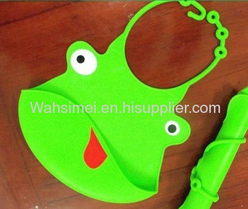Fashionable And Eco-friendly Lovely Silicon Baby Bibs