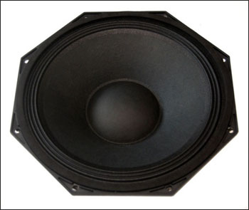 10hexagon neodymium woofer