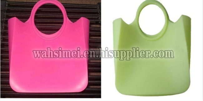 2013 lasest fashion cheap convenient silicone handbags
