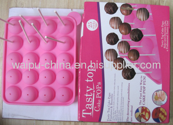 Silicone Lolly Moulds