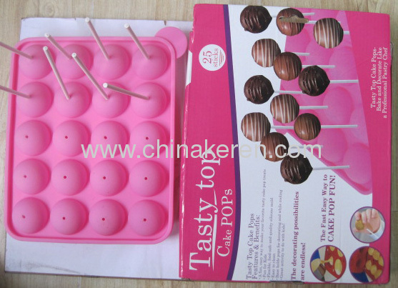 Silicone Lollipop Moulds
